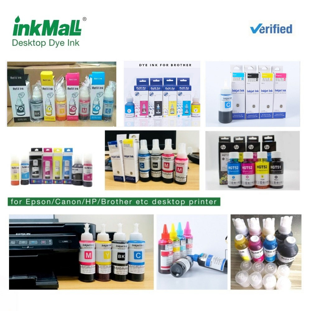 Refillable New dye ink for Epson desktop printer
